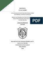 Proposal Kampus - Analisa Scale Pada Pipa Injeksi Sumur Geothermal Lapangan Kamojang