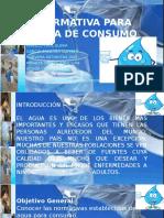 Normativa Para Agua de Consumo