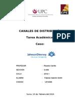 TRABAJO CANALES DE DISTRIBUCIÒN 1