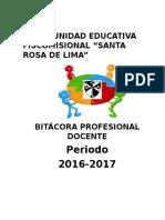 BITÁCORA 2016-2017