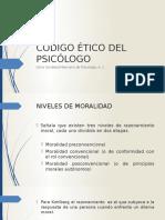 (2) Código Ético Del Psicólogo