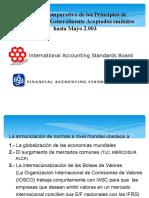 Unidad 7 1era Parte Historia US GAAP y Comparativo Con IFRS