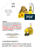 Oil Debate Chromatography PPT 2