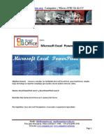 Contenido Curso Microsoft Excel PowerPivot de COMPUTEC