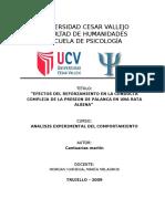 Informe Final de Analisis Experimental Del Comportamiento