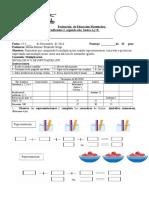 Evaluación de Educación Matemática Cof Dos DF