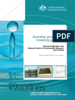 Australian Groundwater Modelling Guidelines