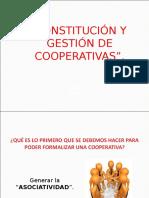 Constitucion y Gestion de Cooperativas[1]