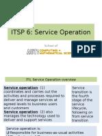 ITSP L06 - Service Operation (OL)