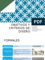 Objetivos y Criterios de Diseño