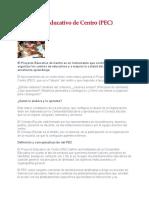 El Proyecto Educativo de Centro.docx