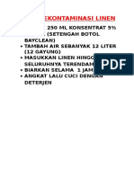 CARA DEKONTAMINASI LINEN.doc