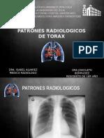 Patrones Radiologicos Torax