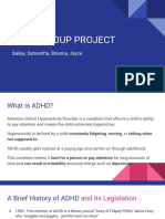 adhd group project