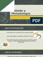 CLASE 03 - MÉTODO Y METODOLOGÍA