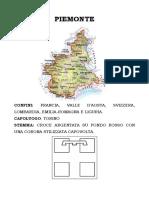 Piemonte - testo semplificato con immagini da colorare
