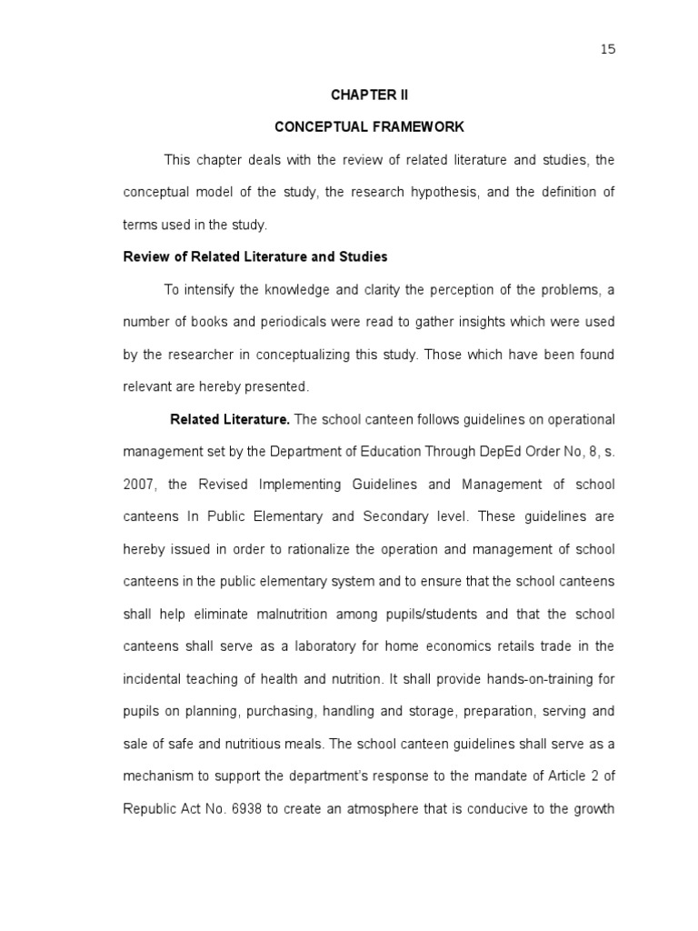 related literature about school facilities