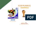Fixture Mundial Sudáfrica 2010