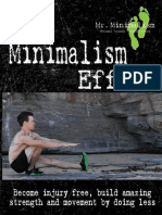 Minimalism Effect - Become Injury Free, Build Amazing Movement and Strength by Doing Less
