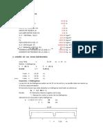 Diseño de Diafragmas - Apoyos y Contraflechas