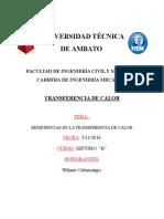 Wilmer Cabascango Resistencias Termicas