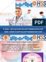 HospitalSoftwareShop - Radiology Information System RIS