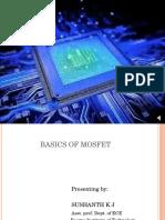 Basics of MOSFET'S and Fundamentals
