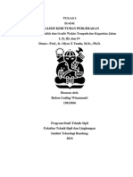 Tugas 2 Analisis Kebutuhan Pergerakan - Ruben Gading 15013036