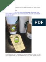 Poka Yoke Starbucks