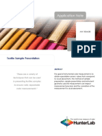 An 1034 Textile Sample Presentationb