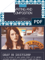 Writing and Composition Domain K-12