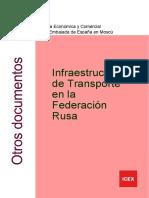 Infraestructuras Del Transporte en La Federación Rusa ICEX