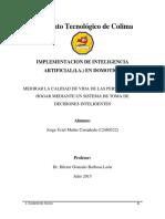Implementacion de I.a. en Domotica