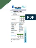 Water Heater Energy Formulas 1212