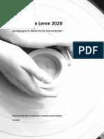 2015 05 20 Visienotitie Leren 2020 Def