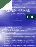 Dasar2 Kepemimpinan
