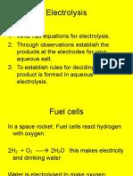 Electrolysis Powerpoint