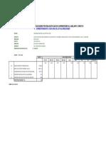 Calculo de Deducciones Corespond. a Cada Valorizacion