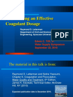 PH Coagulant Dosage