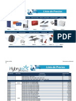 Lista de Precios Hybrytec Marzo 2014
