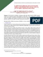 Comparison of Aspen Plus Special Data Packages