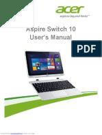 Aspire Switch 10E manual