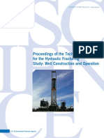 Hydraulic Fracturing Study