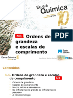 Power Point m1- Ordens de Grandeza
