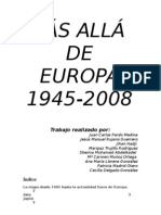 Más allá de Europa 1945-2008