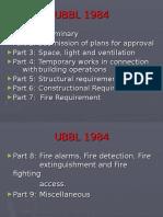 Uniform Building by-laws 1984