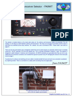 HF Antenna  & Transceiver Selector