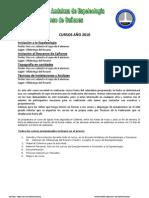 Cursos de Espeleologia y Descenso de Cañones de la FAE para  2010