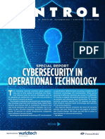 Cybersecurity in Operational Technology