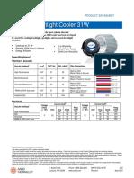 AavidZFlow75 Spotlight LEDCooler31W April2015
